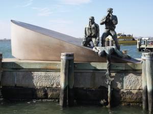 American Merchant Mariners' Memorial.