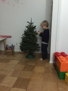 Tate did the honour of putting on the first decoration.