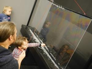 A bubble wall!