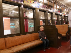 A 1938 subway car.