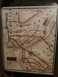 It was really interesting to look at a 1935 transit map.